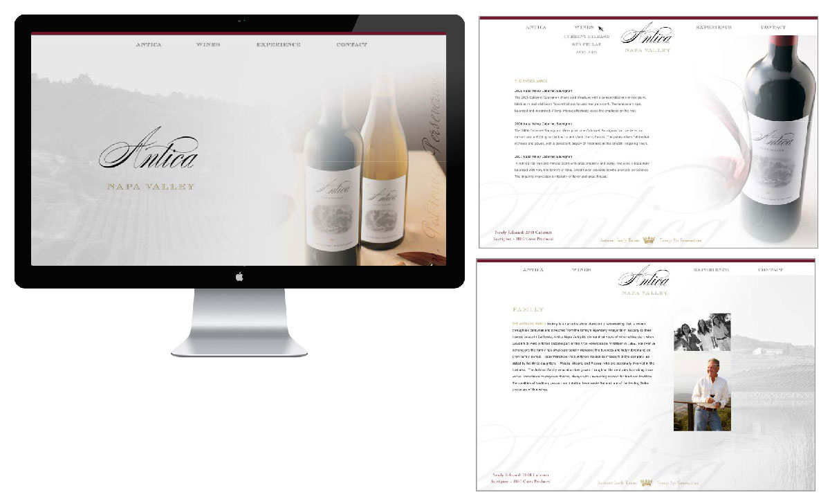 Antica-website